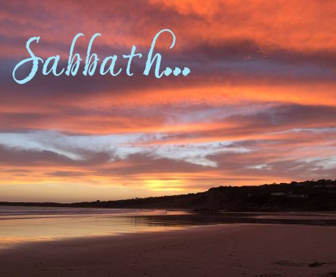 Sabbath Reflection #2: Resting in God